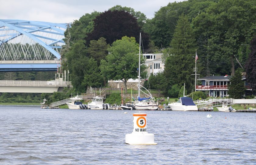 Fast Water Aids to Navigation Help Protect Property and River Users