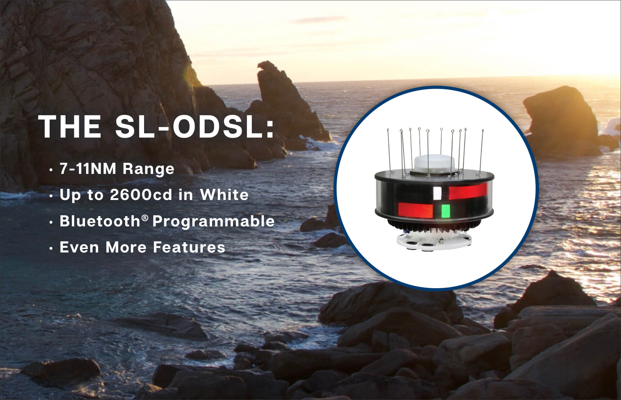 Sealite's New 7-11NM ODSL Sector Lantern Out Now