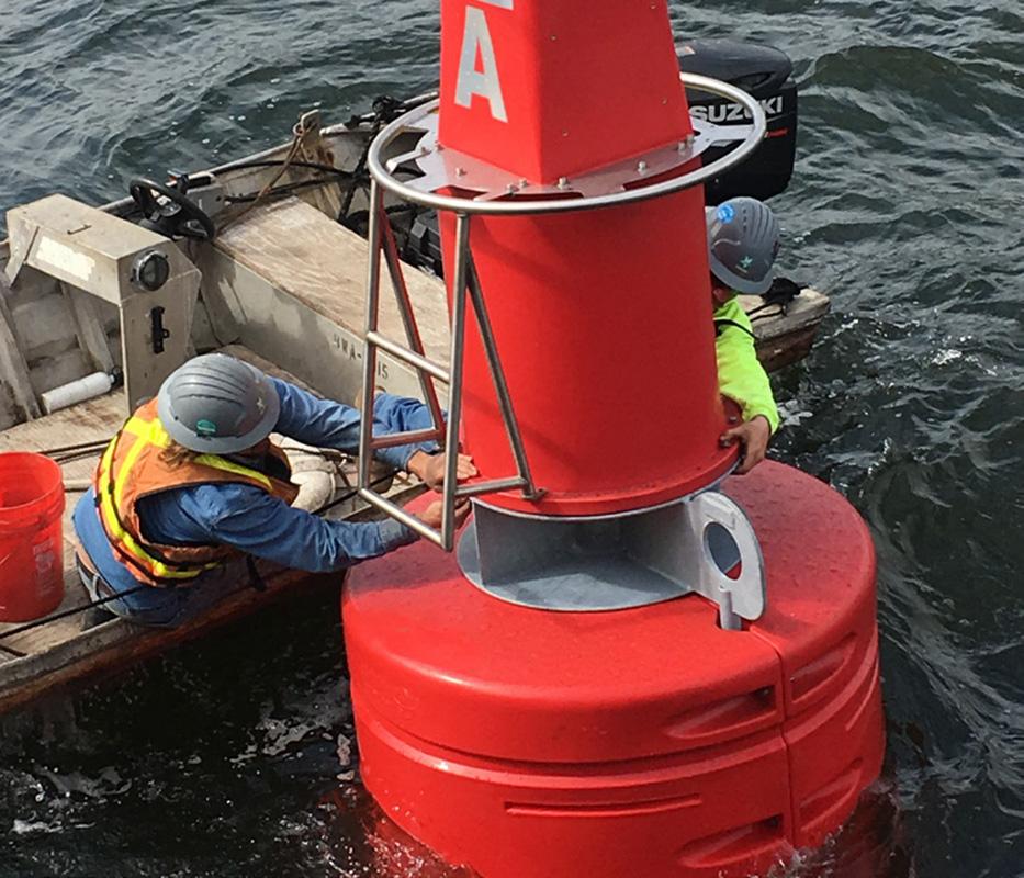 1400mm Diameter Navigation Buoy <br>(Trident SL-B1400)