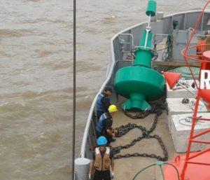 Poseidon SL-B1750 Buoy - Uruguay River
