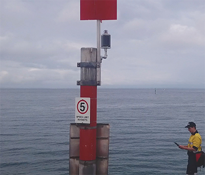 SL-C510 range of self contained marine lanterns