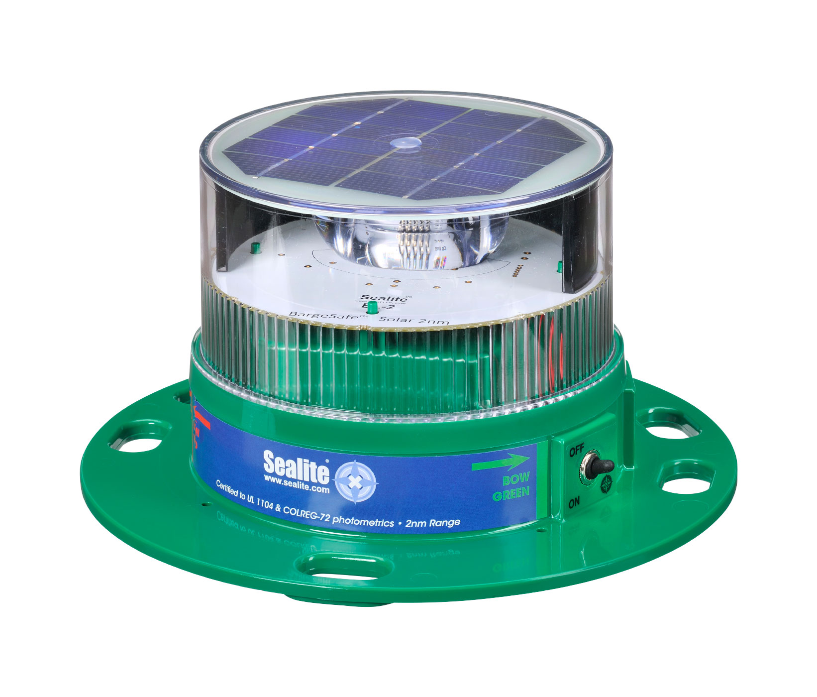 2NM Bargesafe Solar Barge Light