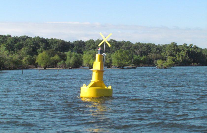 Marking Navigation Hazards at Grand Lake