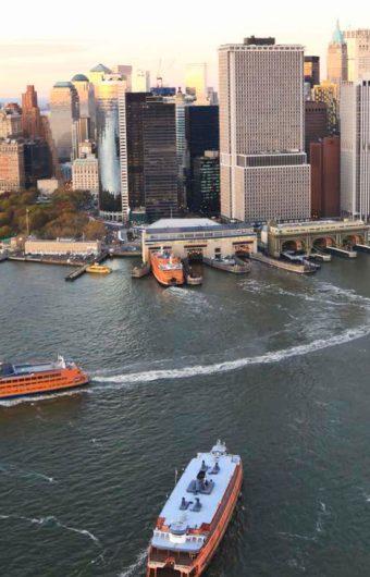 Port Entry Lights Assure Commuters a Safe Passage from Staten Island to Manhattan