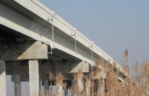 LED Bridge Lights have been installed on a new Florida Bridge