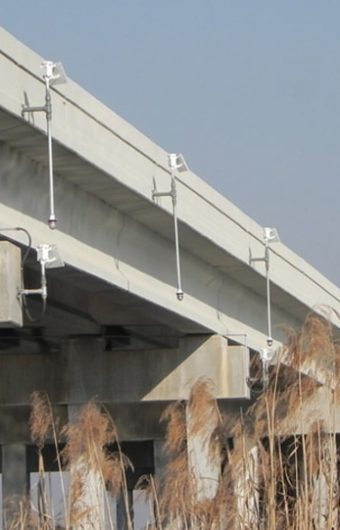 LED Bridge Lights have been installed on a new Florida Bridge